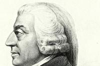 Portret van Adam Smith