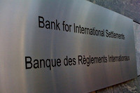 "Plakaat ""Bank for International Settlements"""