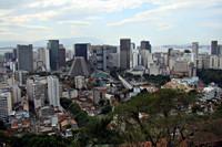 Uitzicht op het centrum van Rio de Janeiro