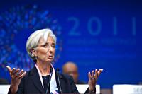 Portret van Christine Lagarde