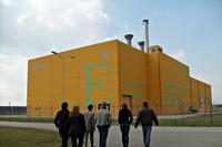 Gebouw voor opslag nucleair afval