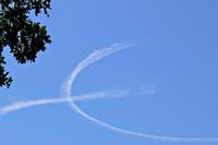 Wolken herkenbaar als Euro teken