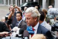 Interview met Geert Wilders op het binnenhof