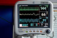 Afbeelding van een hartslagmonitor