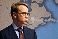Portret van Jens Wiedmann, Dr. Jens Weidmann, president van de Deutsche Bundesbank