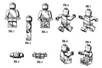 Tekening van lego poppetjes