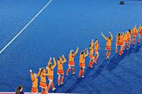 Dames hockeyteam op weg om gouden medailles op te halen tijdens Londen 2012
