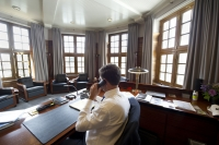 premier Rutte in het torentje