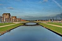 Afbeelding van een brug over het water