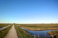 Fiets- en wandelpad de Hollandse Kade tussen Teckop en Gerverscop