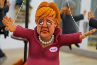 Marionet van Angela Merkel