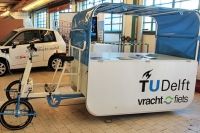 vrachtfiets TU Delft