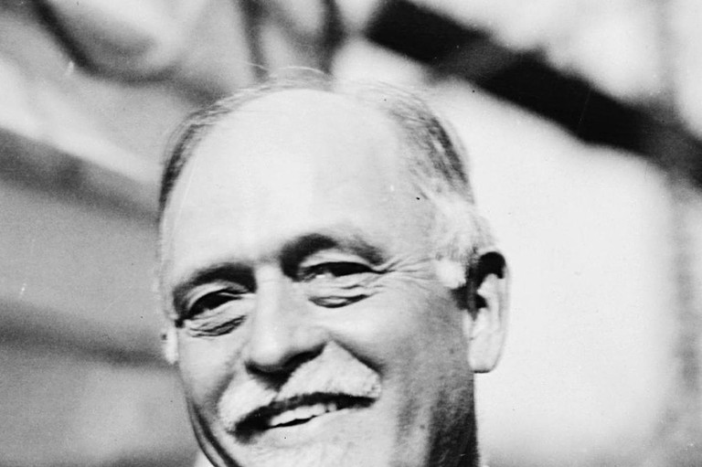 Portret van Irving Fisher
