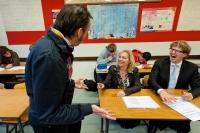 De lerarenbeurs is een gemengd succes image