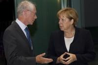 Van Rompuy in Duitsland