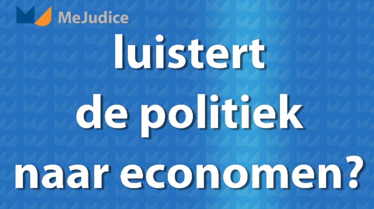 Luisteren politici wel naar economen? image